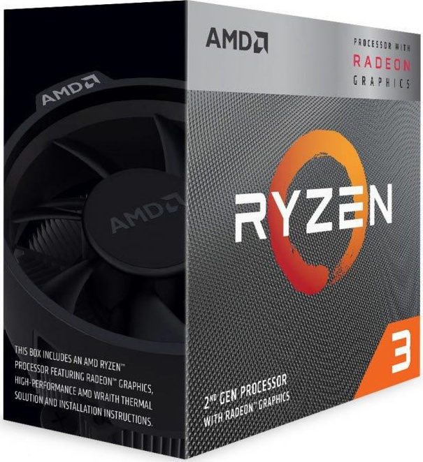 AMD Ryzen 3 3200G Box (YD3200C5FHBOX)