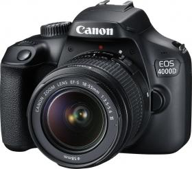 Canon EOS 4000D Kit (EF-S 18-55mm DC III) Black (3011C003)