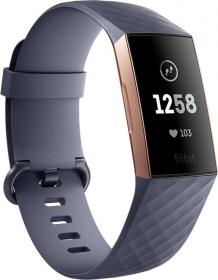 Fitbit Charge 3 Γκρι (FB409RGGY-EU)