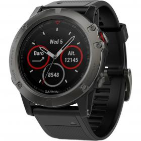 Garmin Fenix 5X Sapphire (Slate Gray with Black Band) (010-01733-01)