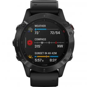 Garmin Fenix 6 Pro (Black with Black Band) (010-02158-02)