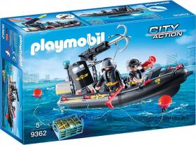 Playmobil City Action: SWAT Boat (9362)
